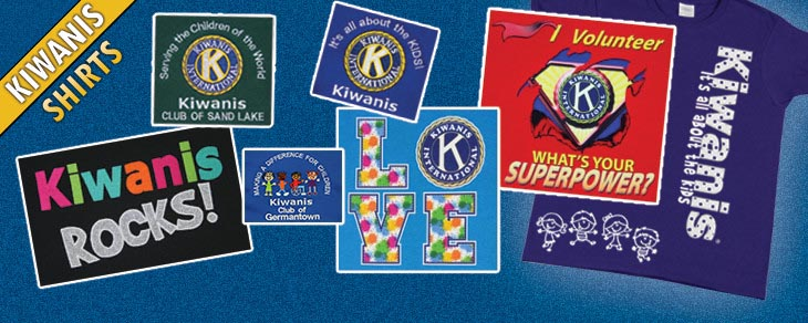 Licensed kiwanis apparel my club shirts