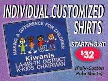 customized kiwanis shirts