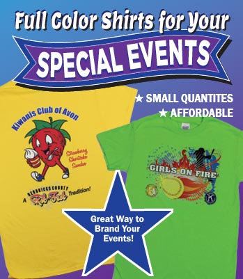 kiwanis special event shirts