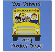 Bus Drivers carry Precious Cargo (male)