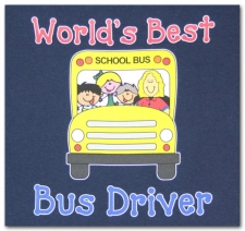 World's Best Bus Driver (female)