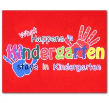 What Happens in Kindergarten Stays in Kindergarten