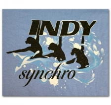 Indy Synchro with three Swimmers