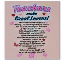 Teachers Make Great Lovers