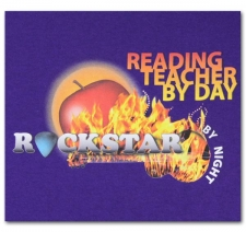 Reading Teacher by Day Rockstar by Night