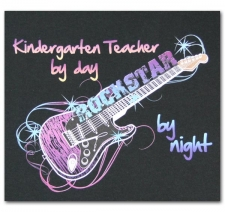 Kindergarten Teacher by Day Rockstar by Night