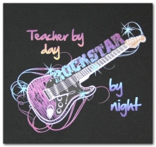 Teacher by Day Rockstar by Night