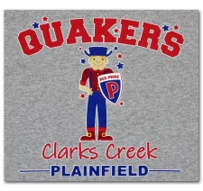Quakers Clarks Creek-Red Pride-Plainfield