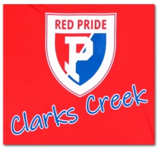 Red Pride Clarks Creek Shield (Moisture Wicking)