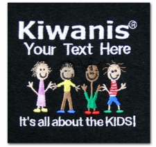 Kiwanis (your text here) It's All About the Kids