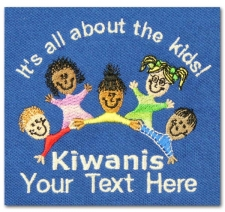 It's All About the Kids! Kiwanis (with custom text)