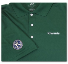 Kiwanis (with seal on left sleeve)