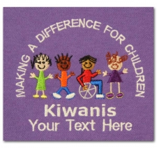 Making a Difference for Children Kiwanis (with custom text)