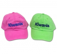 Kiwanis 3D/Puff Embroidered Hat