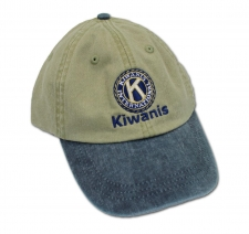 Kiwanis Seal Embroidered Cap