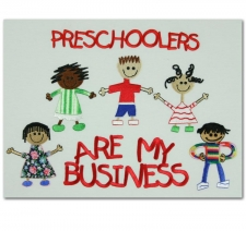 Preschoolers Are My Business