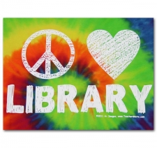 Peace Love Library