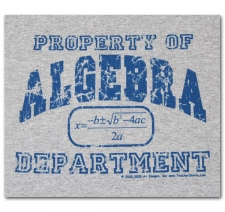 Property of Algebra Department