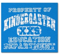 Property of Kindergarten Education Department