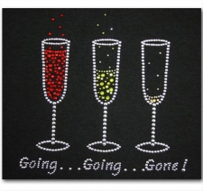 Going Going Gone with 3 Glasses