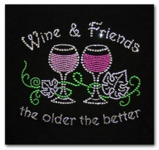 Wine and Friends the Older the Better