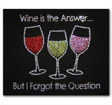 Wine is the Answer but I Forgot the Question