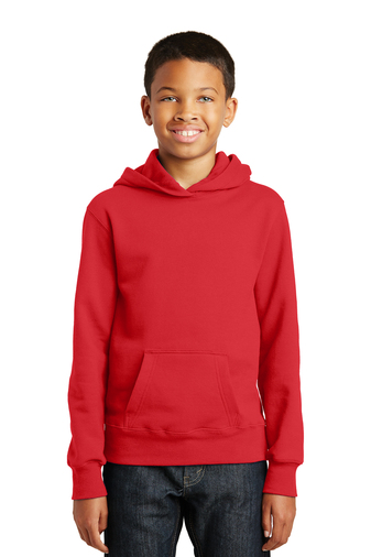 Port and Company Youth Fan Favorite Fleece Pullover Hooded Sweatshirt